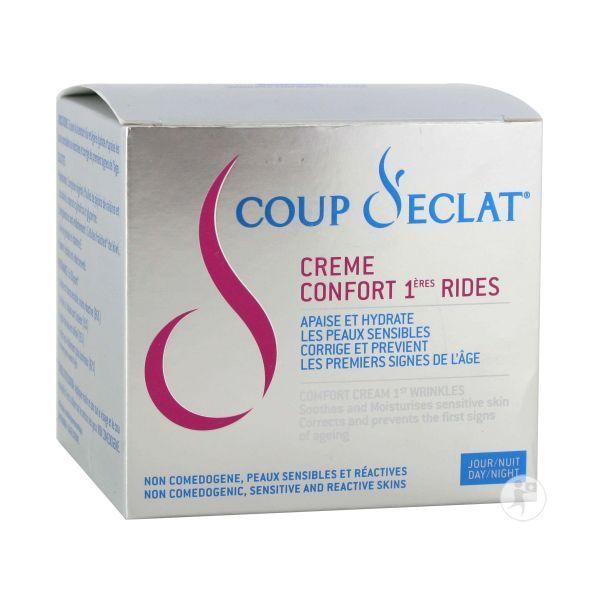 Crème Confort premières rides 50ml à prix bas| Coup d'Eclat