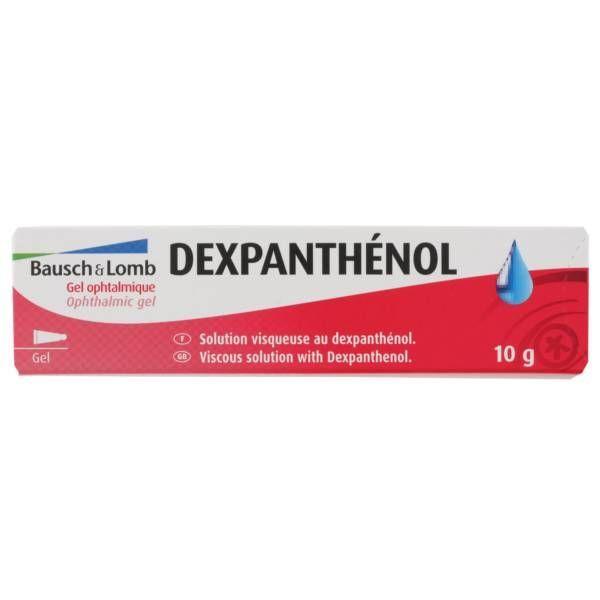 omb Dexpanthénol Gel ophtalmique 10gr moins cher| Bausch&Lomb