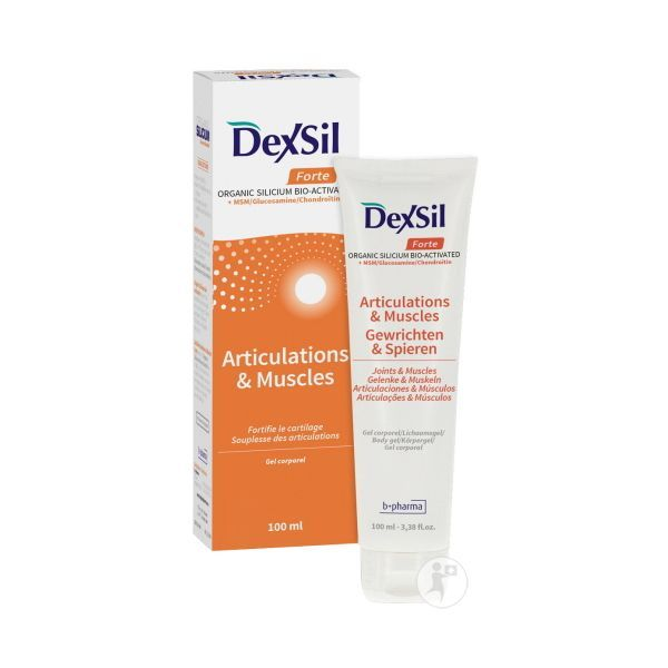 Articulations Forte + MSM/Glucosamine/Chondroïtine Gel Corporel 100ml au meilleur prix  Dexsil