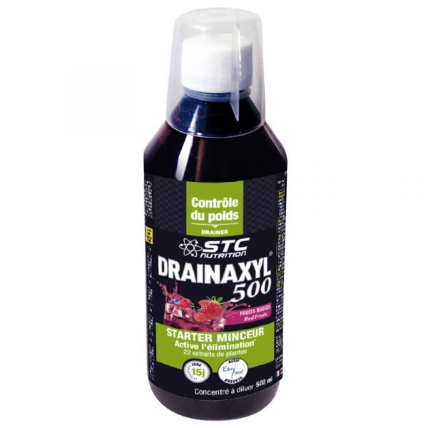 Drainaxyl 500 Fruits Rouges 500ml  moins cher| STC Nutrition