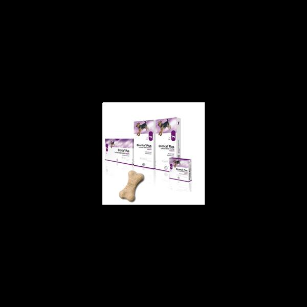 al P  Bone 4 comprimés vermifuges chiens arôme boeuf  à prix discount| Bayer Véto
