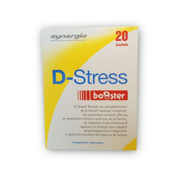 D-Stress booster 20 sachets moins cher| Synergia