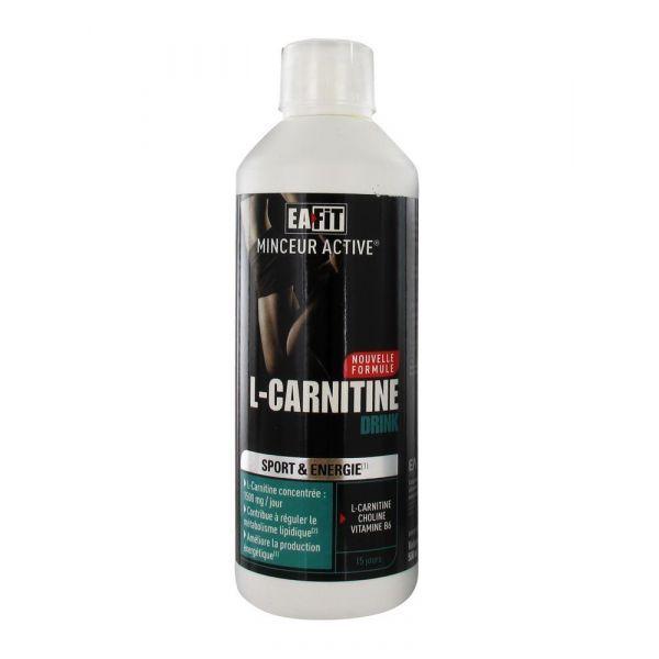 L-Carnitine Boisson 500ml au meilleur prix| Eafit