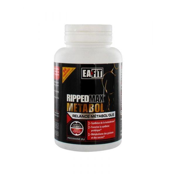 Ripped Max Metabol 63 comprimés à prix bas| Eafit