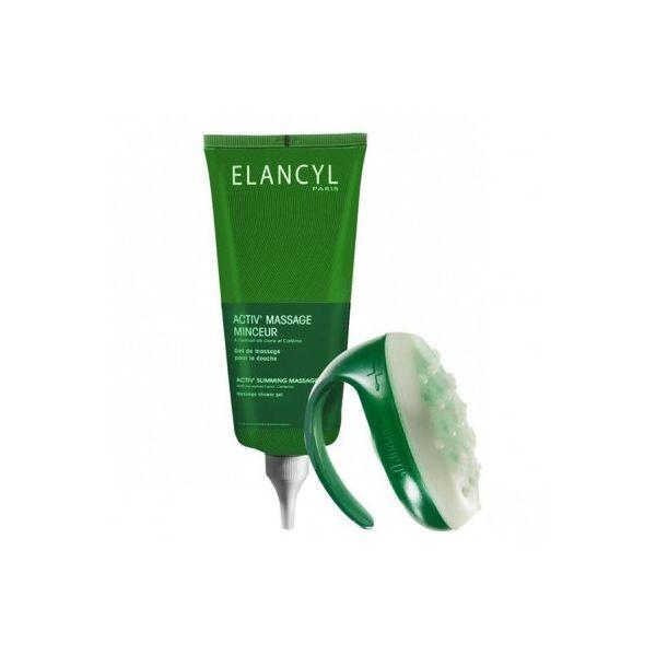 Slim Massage Gel Activ' Massage Minceur 200 ml + Gant moins cher| Elancyl