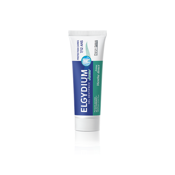 Dentifrice Junior 7-12 ans Menthe Douce 50ml Elgydium