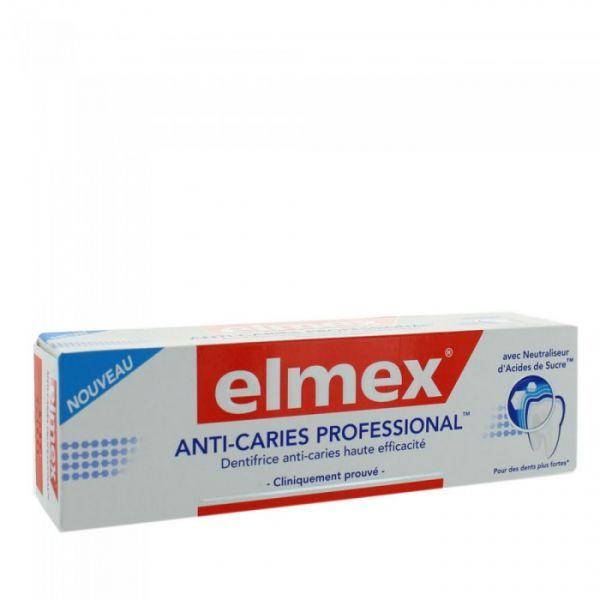 Dentifrice Anti-Caries Professional 75ml à prix discount| Elmex