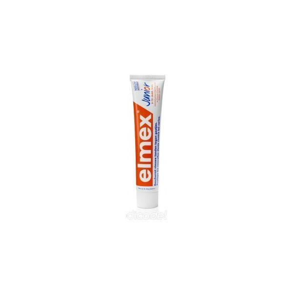 Dentifrice Junior 7 à 12 ans 75 ml à prix discount  Elmex