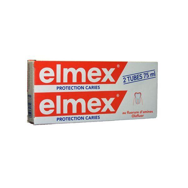Dentifrice Anti-Caries 2x75ml à prix bas  Elmex