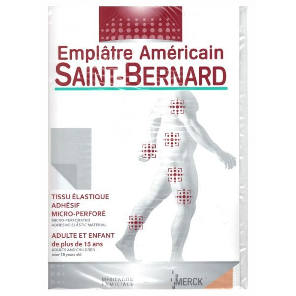 Achetez St Bernard Emplâtre Américain x1 moins cher