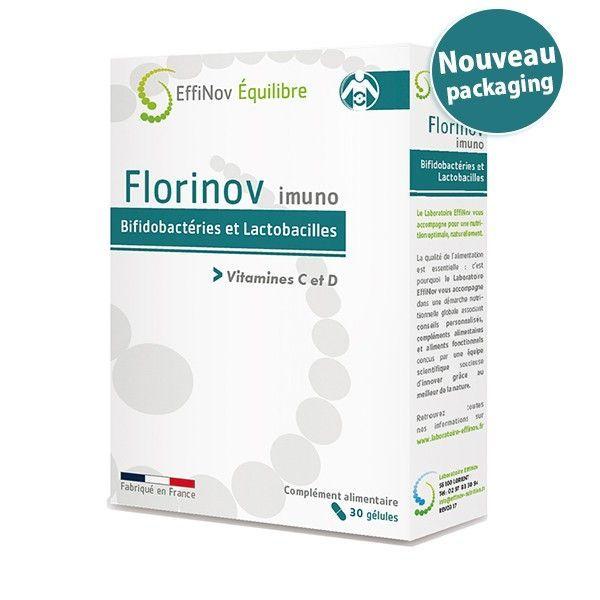 Achetez à prix discount les 30 gélules de Florinov Imuno