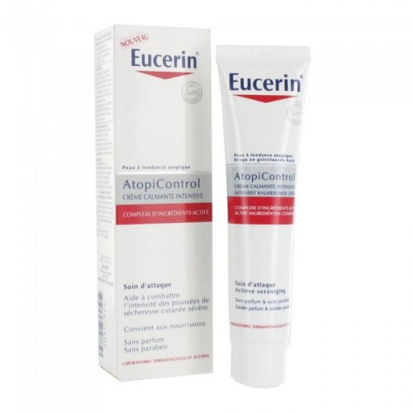 Atopicontrol Crème Calmante Intensive 40ml au meilleur prix  Eucerin