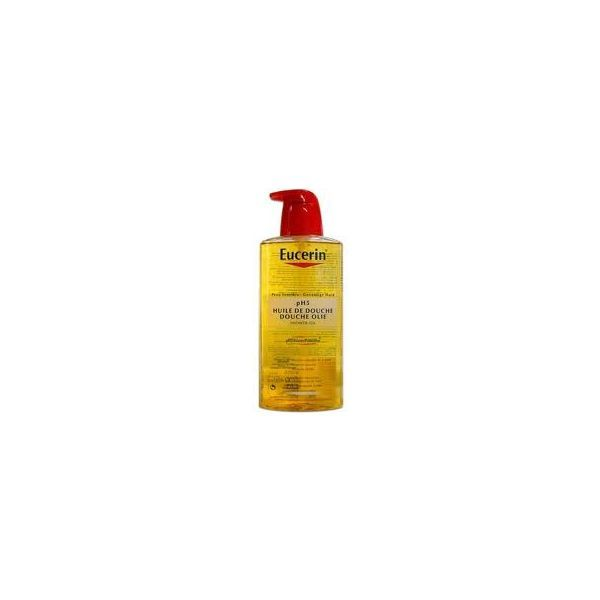 Huile de douche pH5  Flacon pompe  400ml moins cher| Eucerin