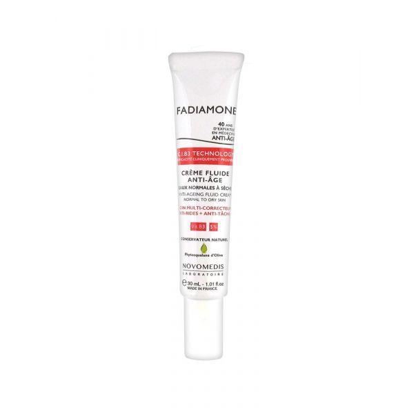 Crème Fluide anti-Age 30ml au meilleur prix| Fadiamone