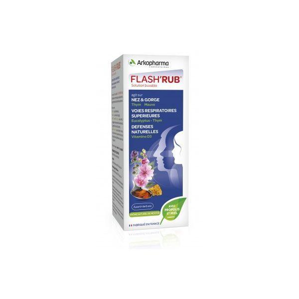 Flash'Rub Arkopharma Solution Buvable 140ml