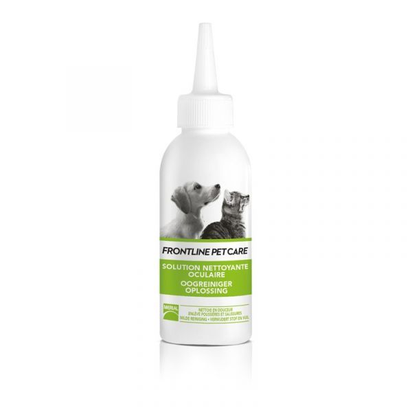 Petcare Solution Nettoyante Oculaire 125ml  à prix discount| Frontline
