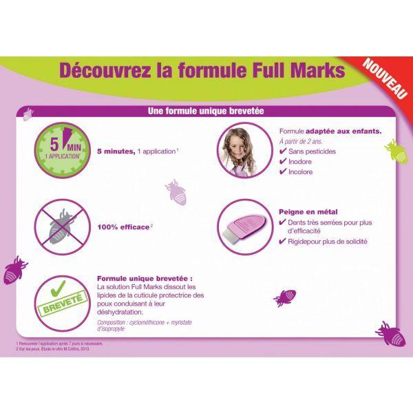 Spray Anti-Poux + Peigne 150ml à prix bas  Full Marks