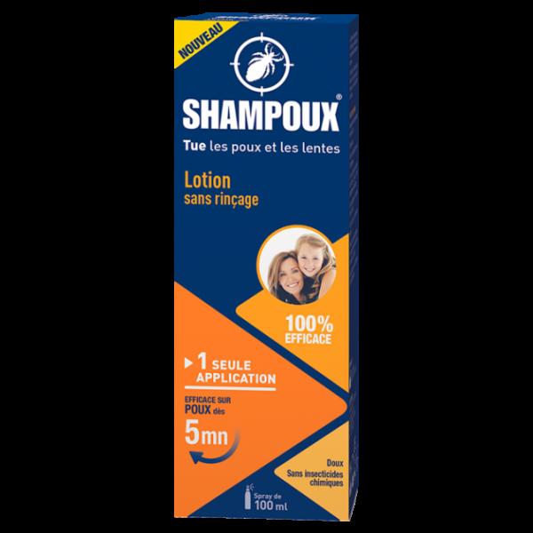 Lotion Anti Poux Sans Rinçage 100ml