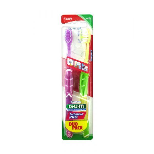 Achetez Gum Brosse à Dents Technique Pro Souple Duo Pack moins cher