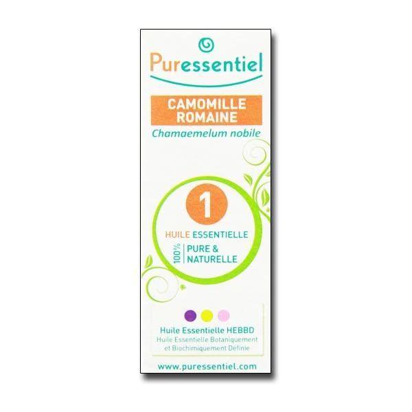 Huile Essentielle de Camomille Romaine 5ml à prix discount  Puressentiel
