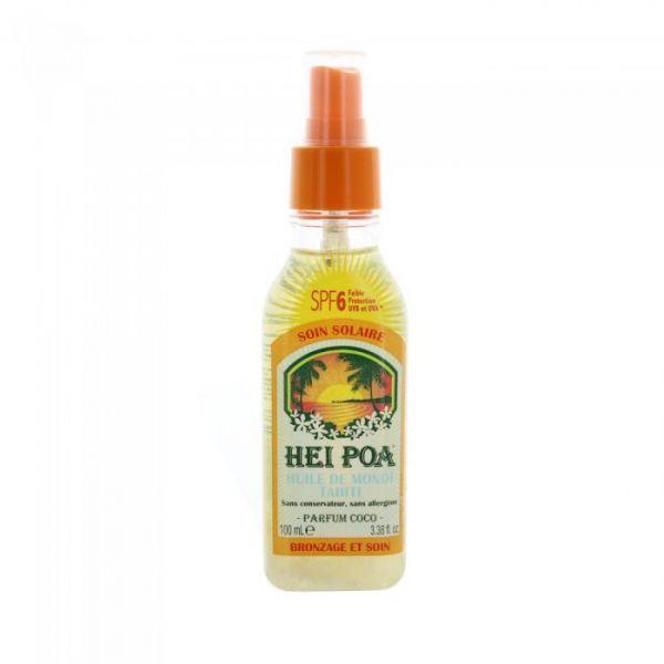 Spray Monoï Coco SPF6 100ml  à prix discount| Hei Poa