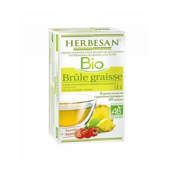 Bio Infusion Brûle Graisse 20 sachets à prix discount| Herbesan
