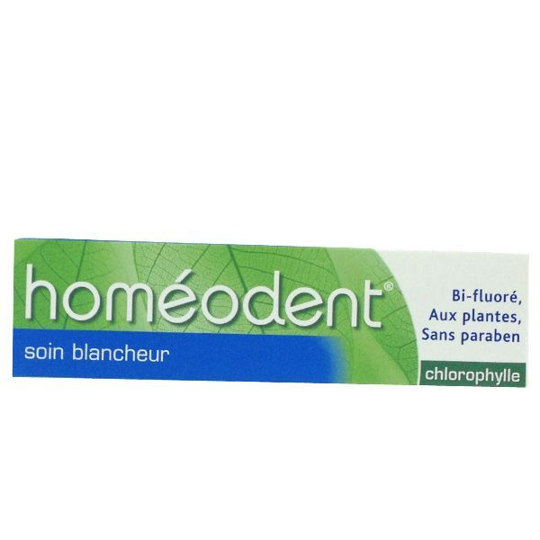 Achetez Homéodent Dentifrice Soin Blancheur 75ml moins cher