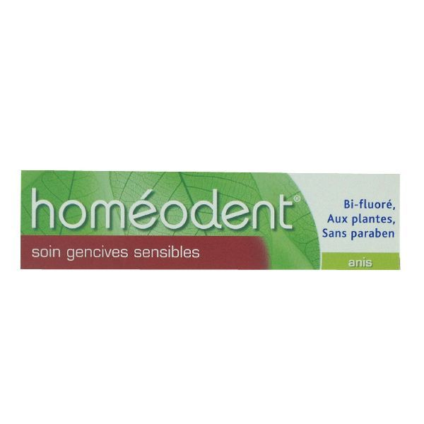 Homéodent Dentifrice Soin Gencives Sensibles Anis 75ml moins cher