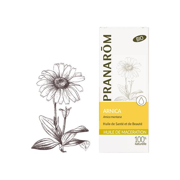 Huile Végétale D'Arnica Bio 50ml moins cher| PRANARÔM