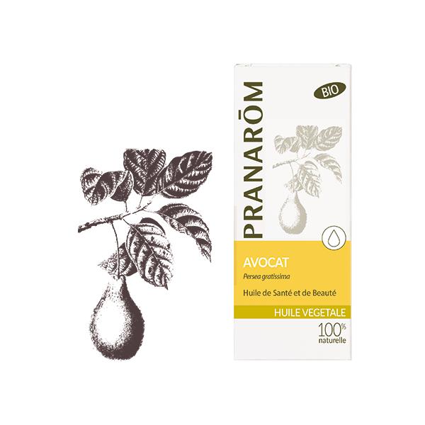 Huile Végétale d'Avocat Bio  50ml à prix discount| PRANARÔM