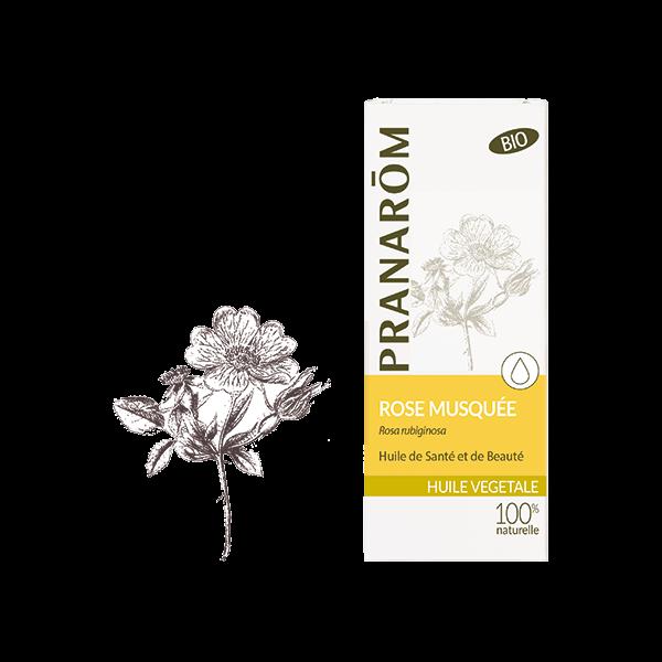 Huile Végétale de Rose Musquée Bio 50ml à prix bas| PRANARÔM