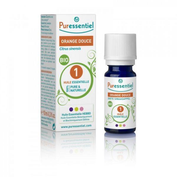 Huile Essentielle Orange Douce Bio 10ml à prix discount| Puressentiel