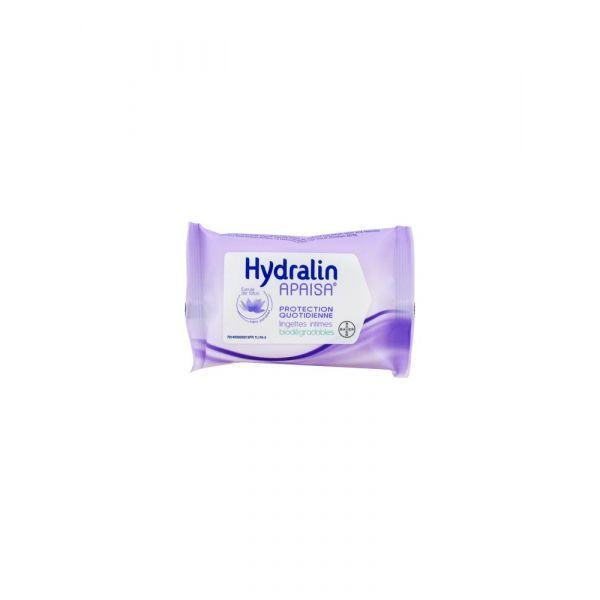 Protection quotidienne Lingettes intimes biodégradables x10 au meilleur prix| Hydralin