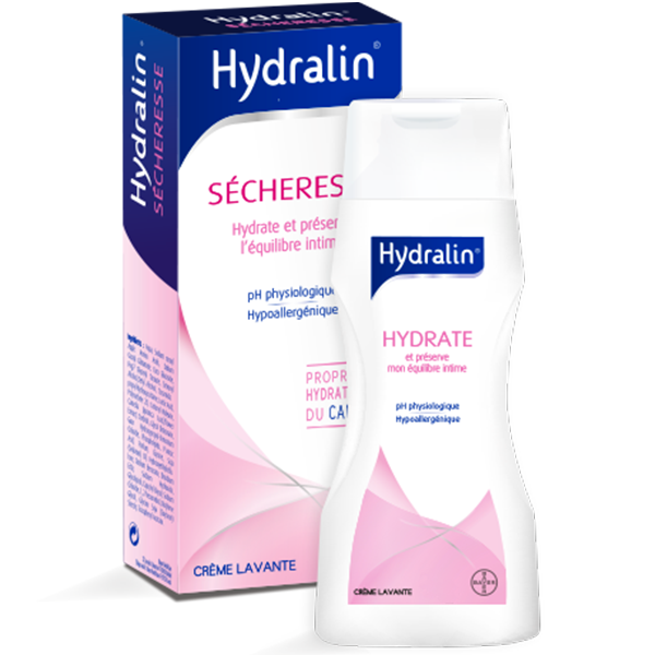 Sècheresse Crème lavante intime 200ml au meilleur prix  Hydralin