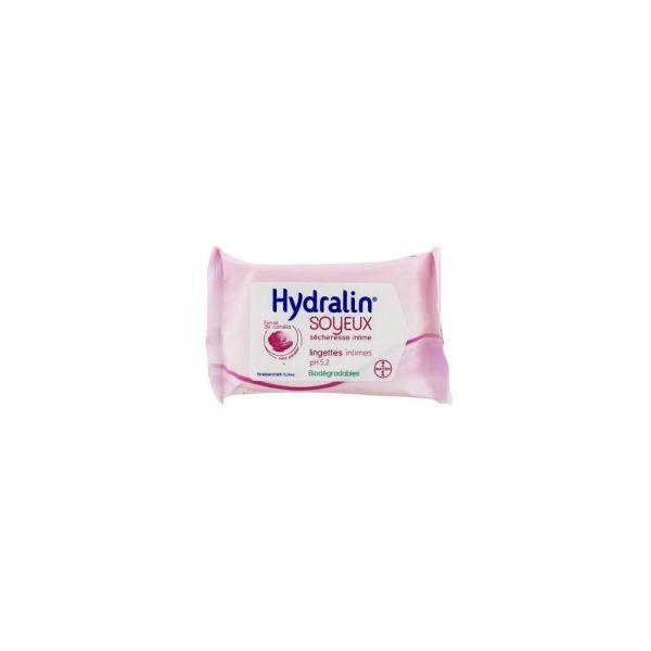 Soyeux Lingettes Hydratation Intense 10 lingettes moins cher| Hydralin