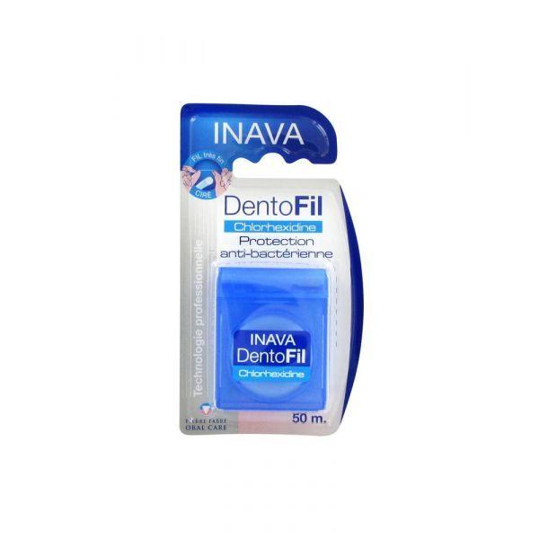 Fil Dentaire Anti-Bactérien 50 mètres à prix bas| Inava