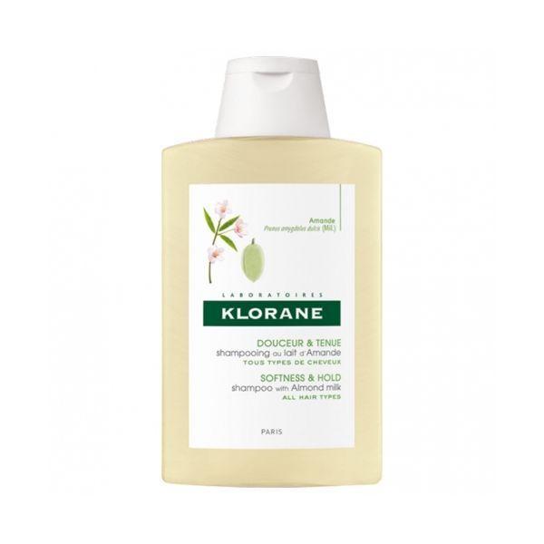 Shampooing au Lait d'Amande  200ml moins cher| Klorane