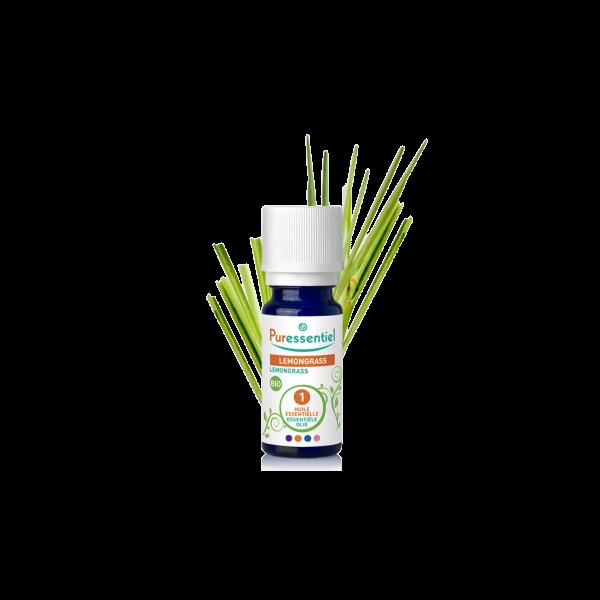 Achetez au meilleur prix l'huile essentielle de Lemongrass de Puressentiel