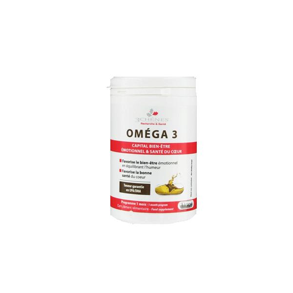 Omega 3 Capital bien-être Licaps à prix bas| Les 3 Chênes