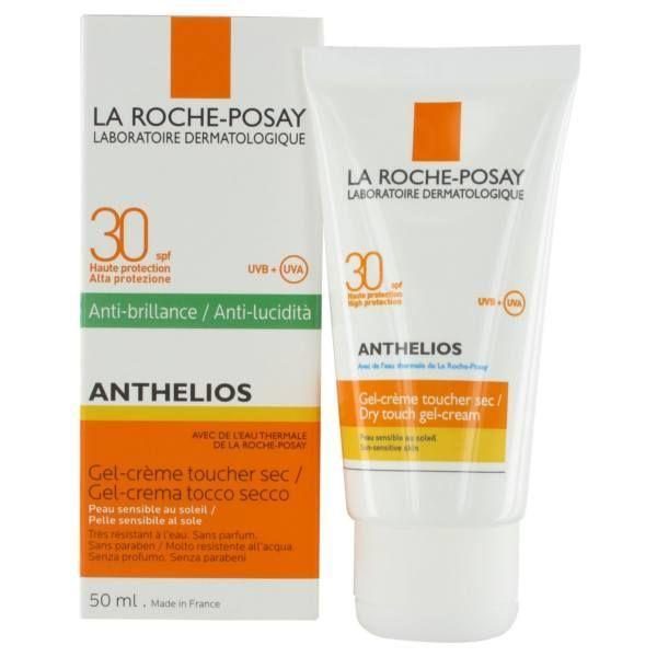 Anthelios 30 Gel-Crème Toucher sec 50ml moins cher| La Roche Posay