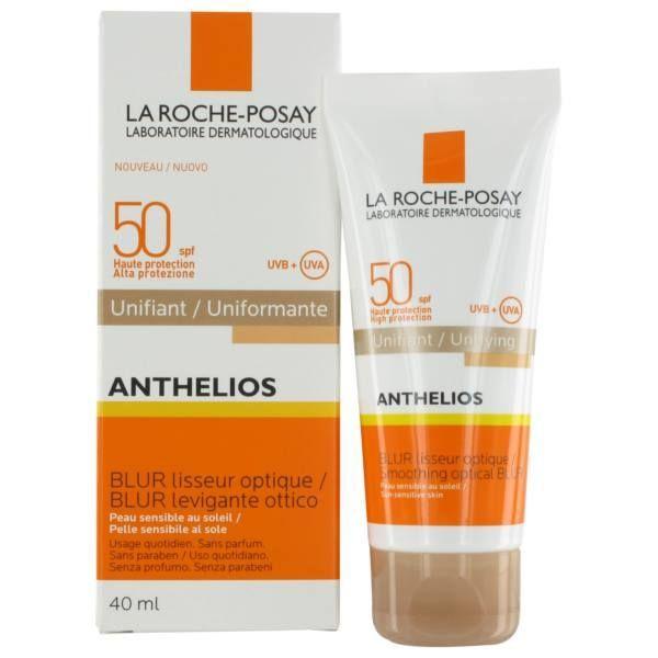 Anthélios Unifiant Blur Lisseur optique SPF50 40ml à prix discount  La Roche Posay