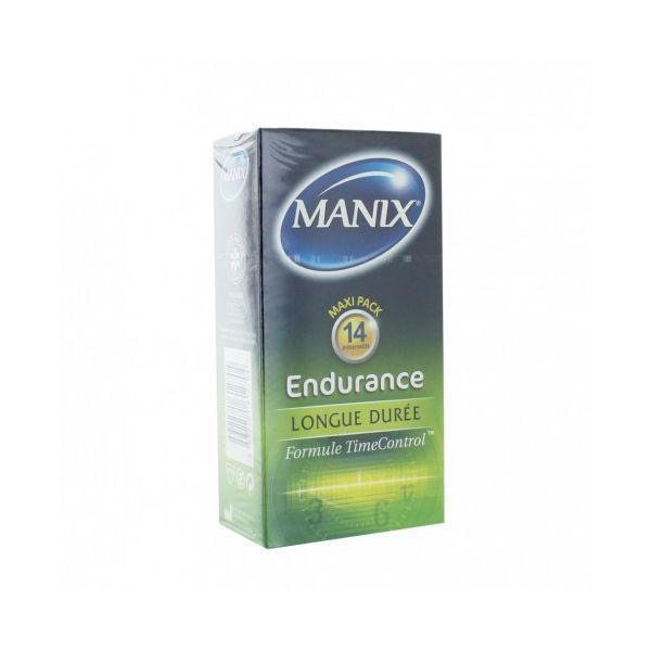 MANIX ENDURANCE PRESERVATIFS X14