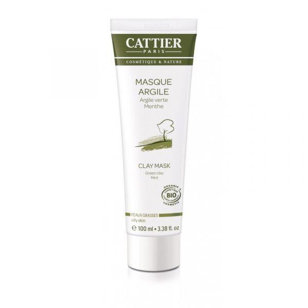 Masque Argile Verte 100 ml. moins cher  Cattier
