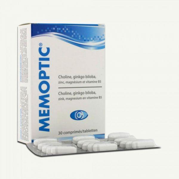 Achetez Mémoptic 30 comprimés moins cher
