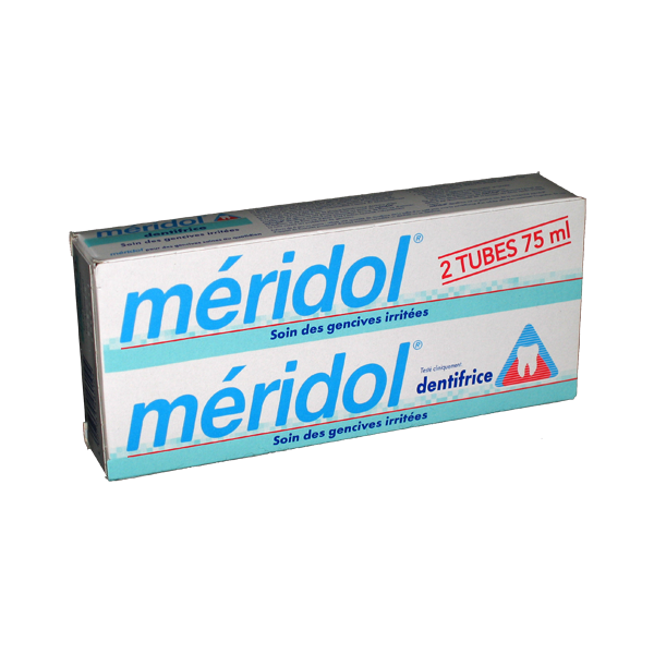 Dentifrice Protection Gencives 2x75ml moins cher| Meridol