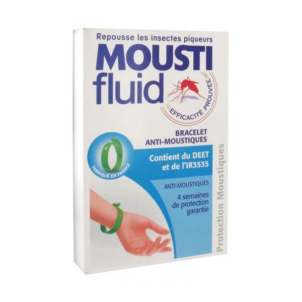racelet Anti-Moustique Vert à prix discount| Mousti fluid