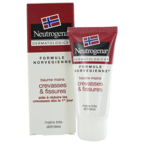 Baume  mains crevasses et fissures 15ml au meilleur prix| Neutrogena