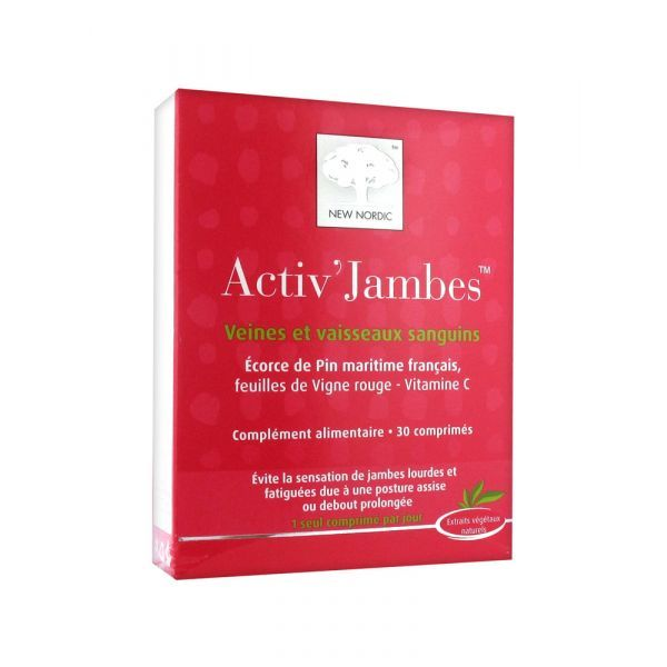 Activ'Jambes 30cp moins cher  New Nordic