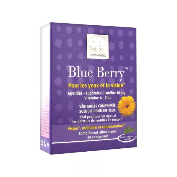 Blue Berry 60cp à prix bas  New Nordic