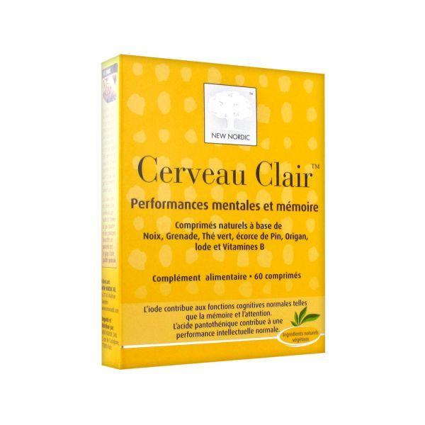 Cerveau Clair 60 comprimés à prix discount| New Nordic